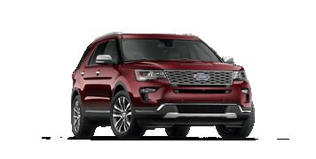Ford Explorer Màu đỏ